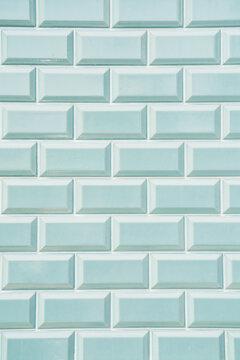 light blue Portuguese tiles