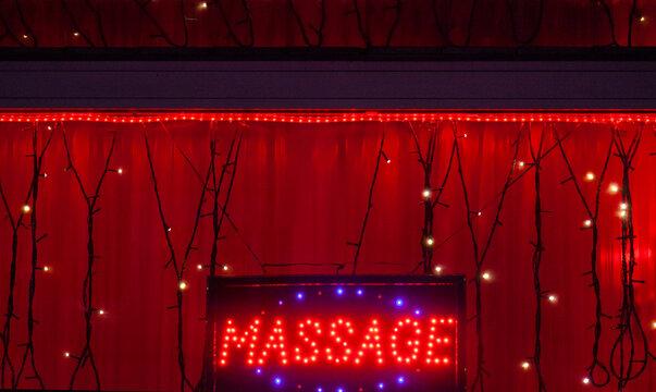 Vitrine massage, prostituées