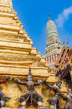 Wat Phra Kaew, The Grand Palace, Bangkok, Thailand