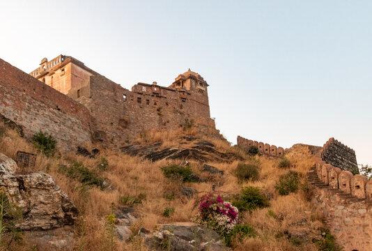 Kumbhalgarh Fort , Udaipur Rajasthan India. High quality photo