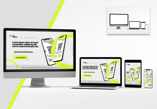 Electronic Devices Mockup