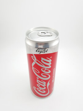 Coca cola light can in Manila, Philippines