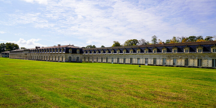 Naval Dockyard corderie royale of Rochefort royal rope making factory building in Europe