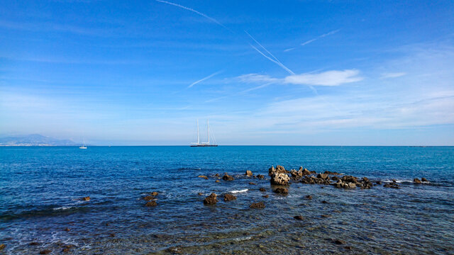 plage de la ville de Nice