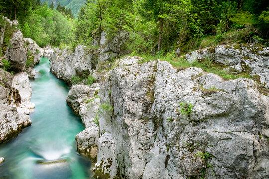 Valle del rio Soca