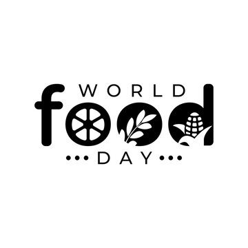 World Food Day illustration vector is suitable for social media, banner , poster , Flier and related with food