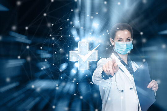 Concept of high-quality performance of medical services.