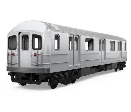 Subway Car Isolated
