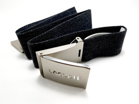 iLacoste navy blue belt strap and buckle in Manila, Philippines
