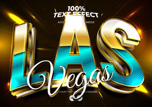 Edibtale Text Effect Las Vegas