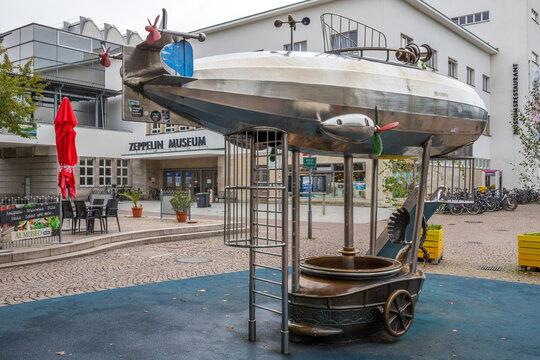 Kinderspielplatz in Friedrichshafen am Bodensee