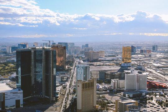 City view of Las Vegas, Nevada