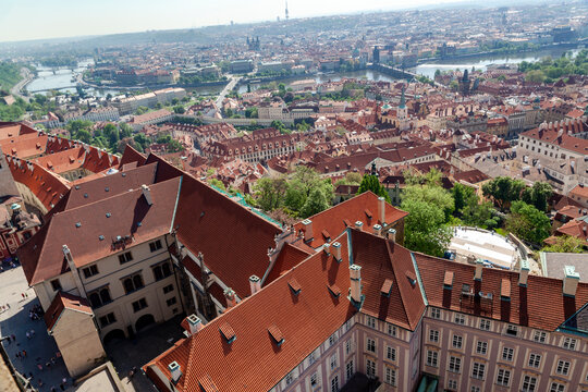 View of the old Prague