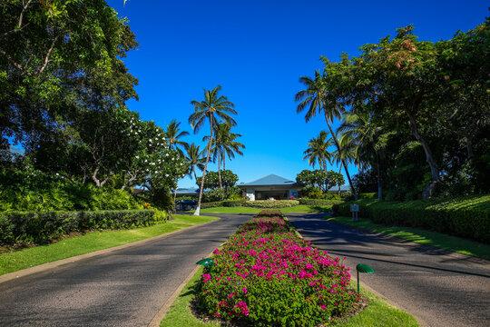 Beach resort, Waikoloa, Big Island, Hawaii
