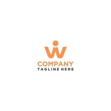 initial w/wi/i logo design inspiration