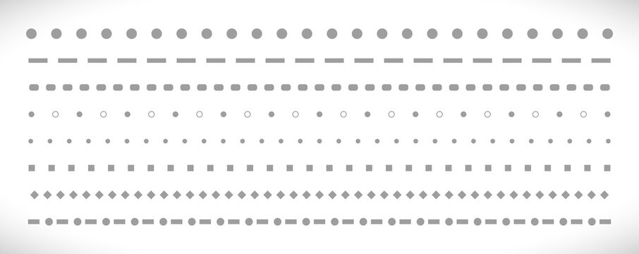 dot line icon