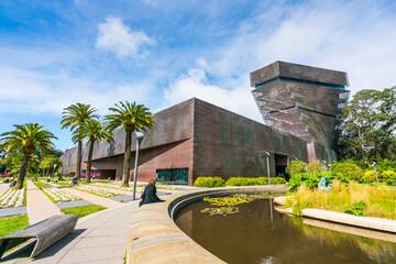 de young,Fine Arts Museums of San Francisco,California,usa.