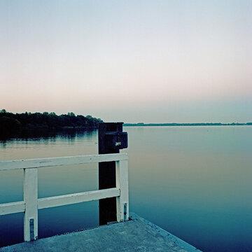 Abend am See, Bad Zwischenahn Meer, Wasser, Ruhe, Entspannung, Anleger