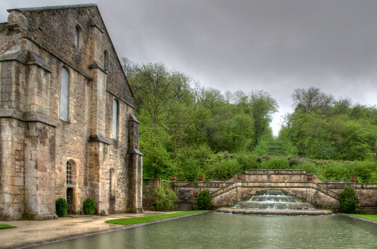 Abbaye de Fontenay, France (détail)