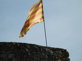 Valls, Spanish city, and municipality in the province of Tarragona, in Catalonia. Capital of the Alto Campo region Fototapete