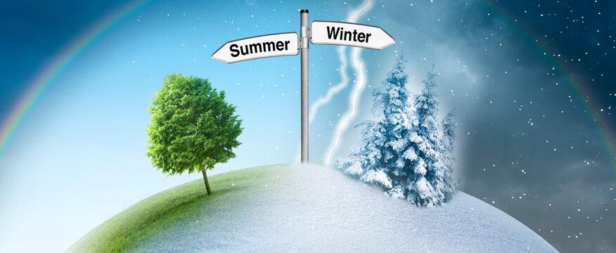 Jahreszeitenwechsel von Sommerzeit zu Winterzeit