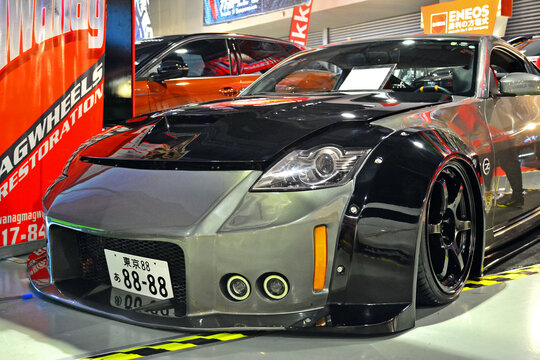 Nissan 350z at Trans Sport Show in Pasay, Philippines