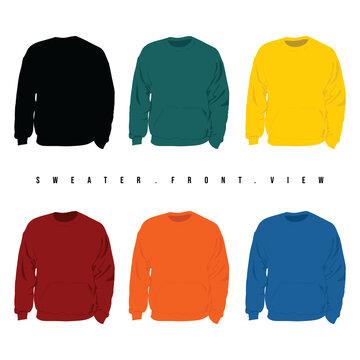 Set Mock up of Sweater