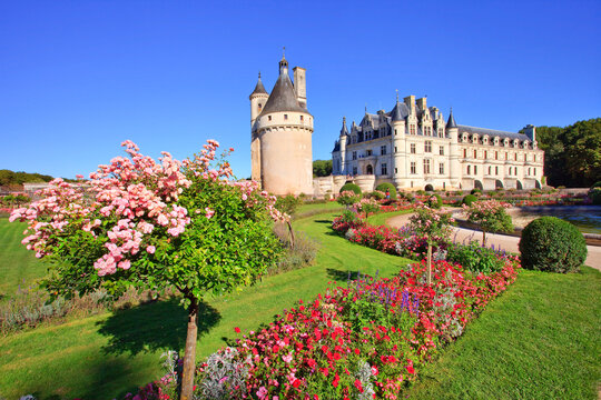 Chenonceau, the palace and the garden