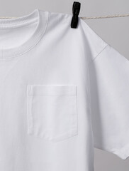 Pocket T-Shirt Mockup