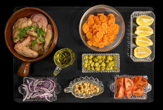 nourriture et art de la table