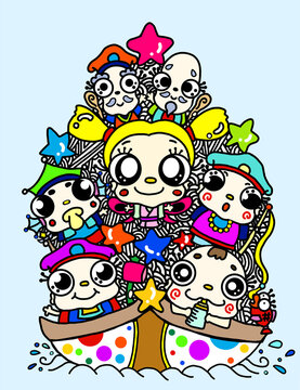 Baby Seven Lucky Gods