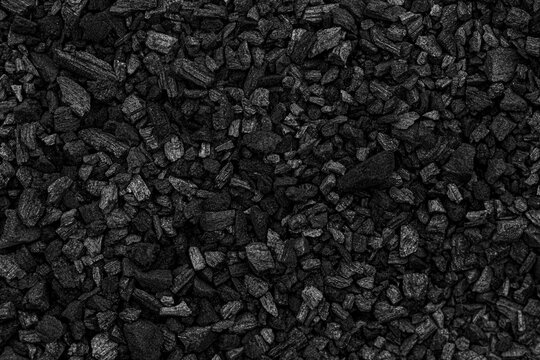 Black charcoal texture for background