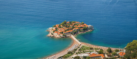 Fototapeta St. Stefan island in Montenegro