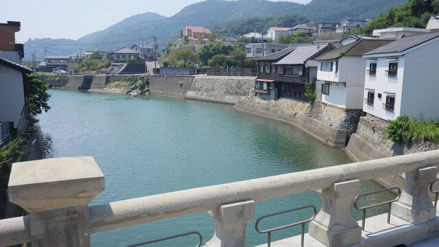 Horikawa Unga Canal was located in the scenic Miyazaki Prefecture