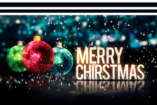 Christmas background for card prints or projects.