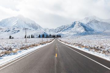 Road to Convict Lake, California