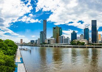 Australian city of Brisbane skyline