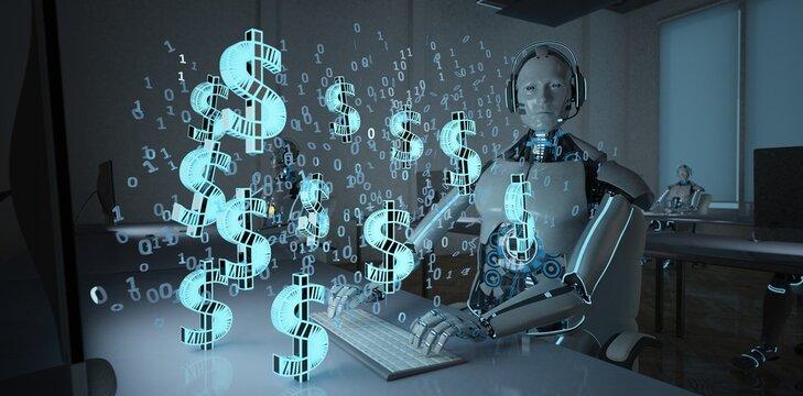 Humanoid Robot Makes Money