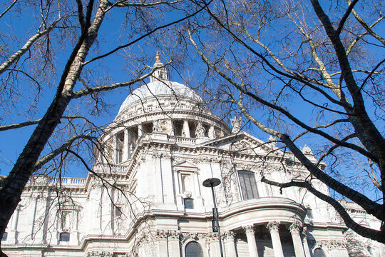 St Paul's Cathedral built by Sir Christopher Wren after The Great Fire Of London is one of the most popular tourist attractions of the city.