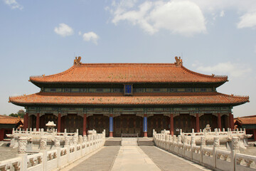 forbidden city in beijing (china)