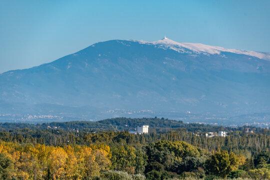 Mont Ventoux depuis Avignon