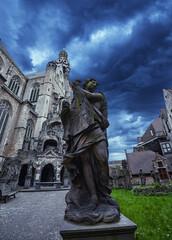 Wall Mural - St. Paul's Cathedral in Antwerp. Belgium