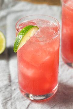 Refreshing Boozy Vodka Bay Breeze Cocktail