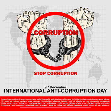 International Anti Corruption Day, Poster and banner