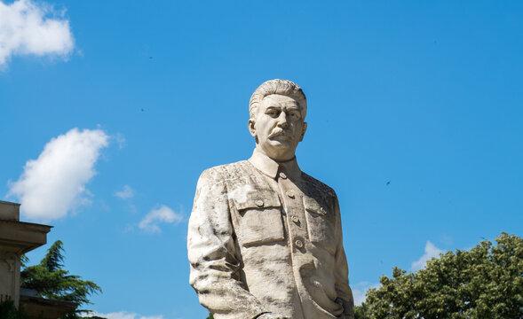 Joseph Stalin (Jughashvili) monument in his birthplace - Gori