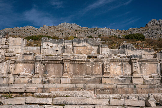 The ancient remains of Sagalassos is one of the best-preserved ancient cities in Turkey and city was surrounded by a series of valleys that were gradually incorporated into its territory.