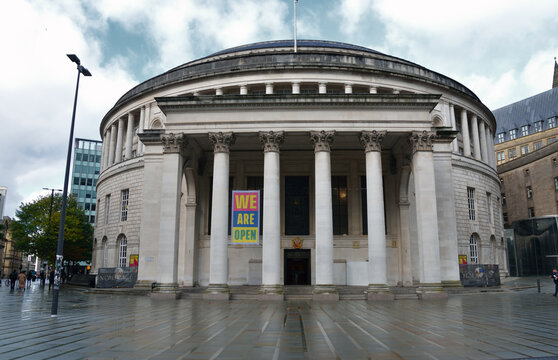Manchester central library, Manchester UK, October 8th 2020