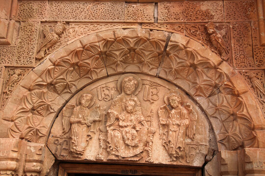 Noravank Monastery Detail of Baptist Church, Armenia