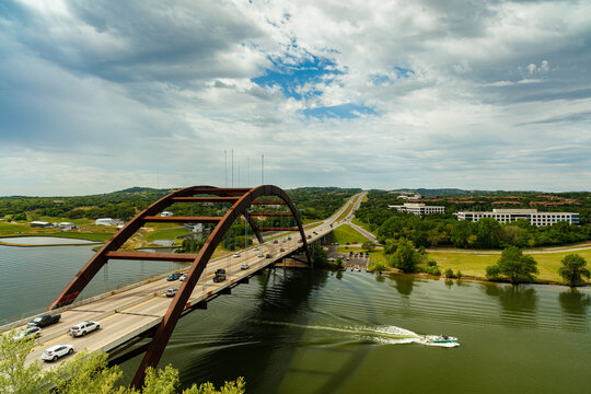 Pennybacker Bridge Austin, Texas