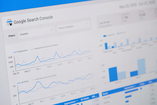 Managing google search console